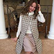Одежда ручной работы. Ярмарка Мастеров - ручная работа Пальто - жилет. Handmade.