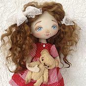 Куклы и игрушки ручной работы. Ярмарка Мастеров - ручная работа Кукла малышка Анжела. Handmade.