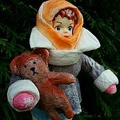 Куклы и игрушки ручной работы. Ярмарка Мастеров - ручная работа Ватная игрушка. Handmade.