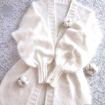 Одежда ручной работы. Ярмарка Мастеров - ручная работа Кардиганы пух норки. Handmade.