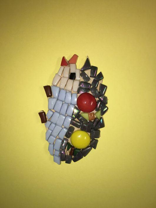 Игрушки животные, ручной работы. Ярмарка Мастеров - ручная работа. Купить Ёжик Смальта. Handmade. Ежик, смальта, дерево смальта