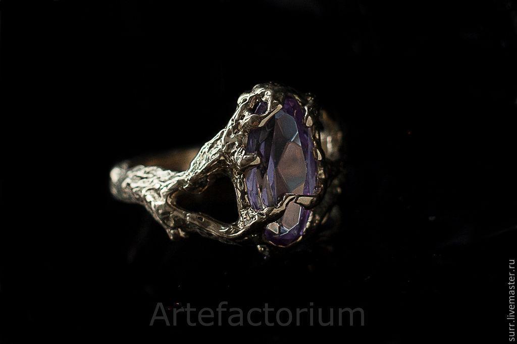 Золотое кольцо  с александритом, Кольца, Москва, Фото №1