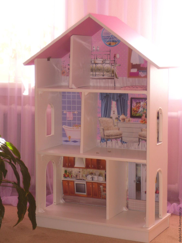 Кукольный домик своими руками из гипсокартона фото