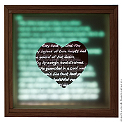 """Свадебный салон ручной работы. Ярмарка Мастеров - ручная работа Акцентный светильник """"Дела сердечные"""". Handmade."""