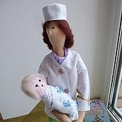 """Куклы и игрушки ручной работы. Ярмарка Мастеров - ручная работа Кукла """"Доктор"""". Handmade."""