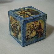 Подарки к праздникам ручной работы. Ярмарка Мастеров - ручная работа интерьерный кубик. Handmade.