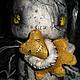 Коллекционные куклы ручной работы. Ярмарка Мастеров - ручная работа. Купить ГАРГУЛЬЯ. Handmade. Мишка, фрик, опилки