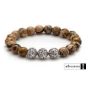 Украшения handmade. Livemaster - original item Women`s bracelet Floral vintage Baltic amber. Handmade.