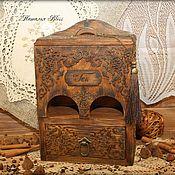 """Для дома и интерьера ручной работы. Ярмарка Мастеров - ручная работа Чайный домик """"Сuisine"""". Handmade."""