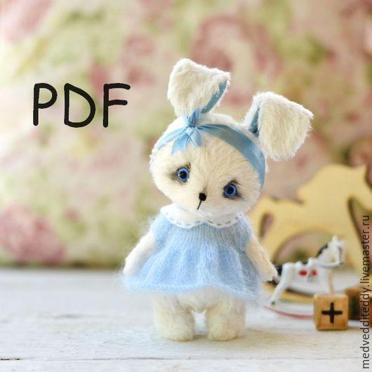 Куклы и игрушки ручной работы. Ярмарка Мастеров - ручная работа. Купить Выкройка зайца и кошки тедди 12 см. Handmade.