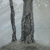 Картины и панно handmade. Livemaster - original item Landscape After the rain. Handmade.
