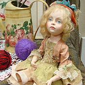 """Куклы и игрушки ручной работы. Ярмарка Мастеров - ручная работа Авторская кукла """" Козетта"""". Handmade."""