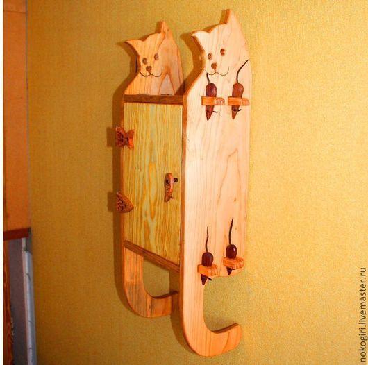 Мебель ручной работы. Ярмарка Мастеров - ручная работа. Купить Шкафчик Кошки. Handmade. Коричневый, для лекарств, американский орех
