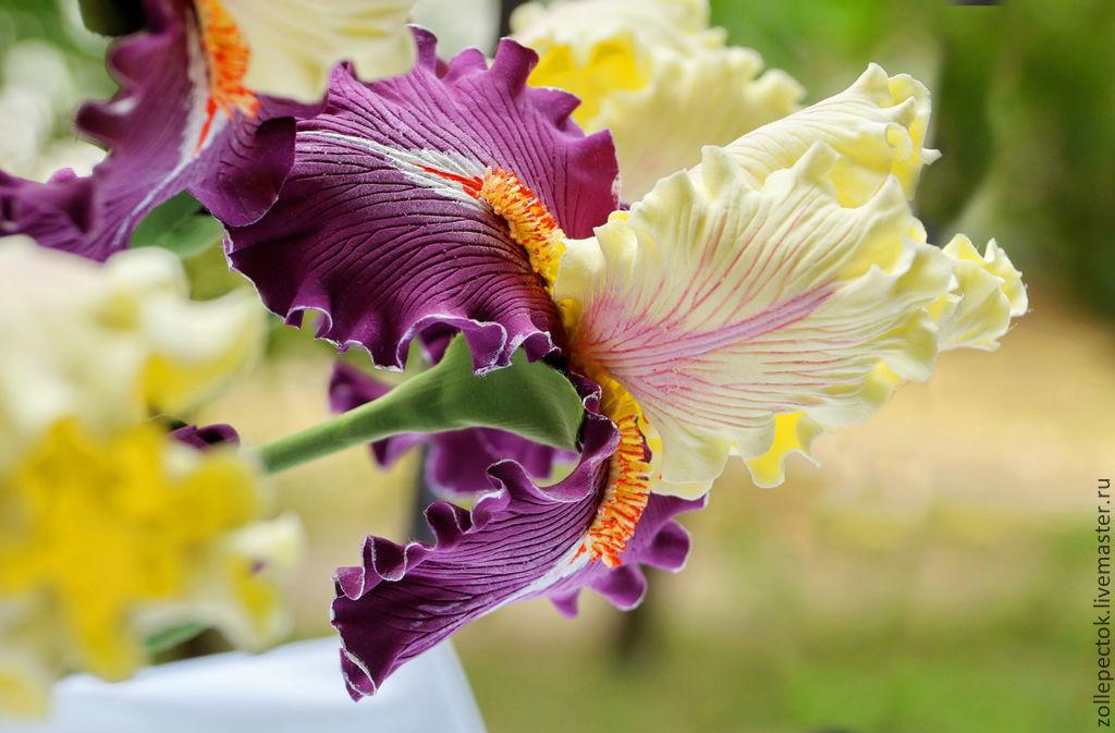 цветы из бархата своими руками мастер класс фото