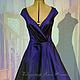 Order Dress-retro 'Audrey '-2. Lana Kmekich (lanakmekich). Livemaster. . Dresses Фото №3