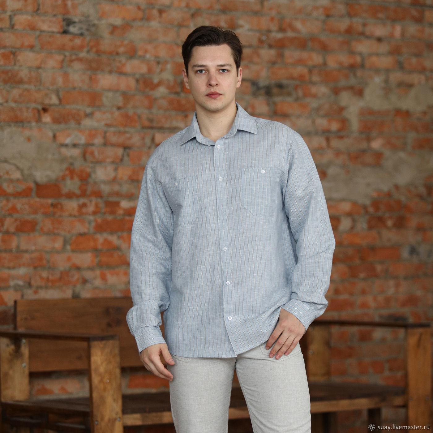Сорочка мужская С-11, Рубашки мужские, Кострома,  Фото №1