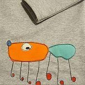 Работы для детей, ручной работы. Ярмарка Мастеров - ручная работа Кофта с детским рисунком. Handmade.