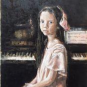Для дома и интерьера handmade. Livemaster - original item Painting the music Lesson. Handmade.