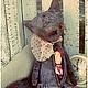 Мишки Тедди ручной работы. Ярмарка Мастеров - ручная работа. Купить Серый волк и Красная Шапочка. Handmade. Серый