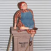 """Куклы и игрушки ручной работы. Ярмарка Мастеров - ручная работа """"Лев""""  (проект """"Знаки Зодиака в бабках"""" по рисункам Ольги Громовой). Handmade."""