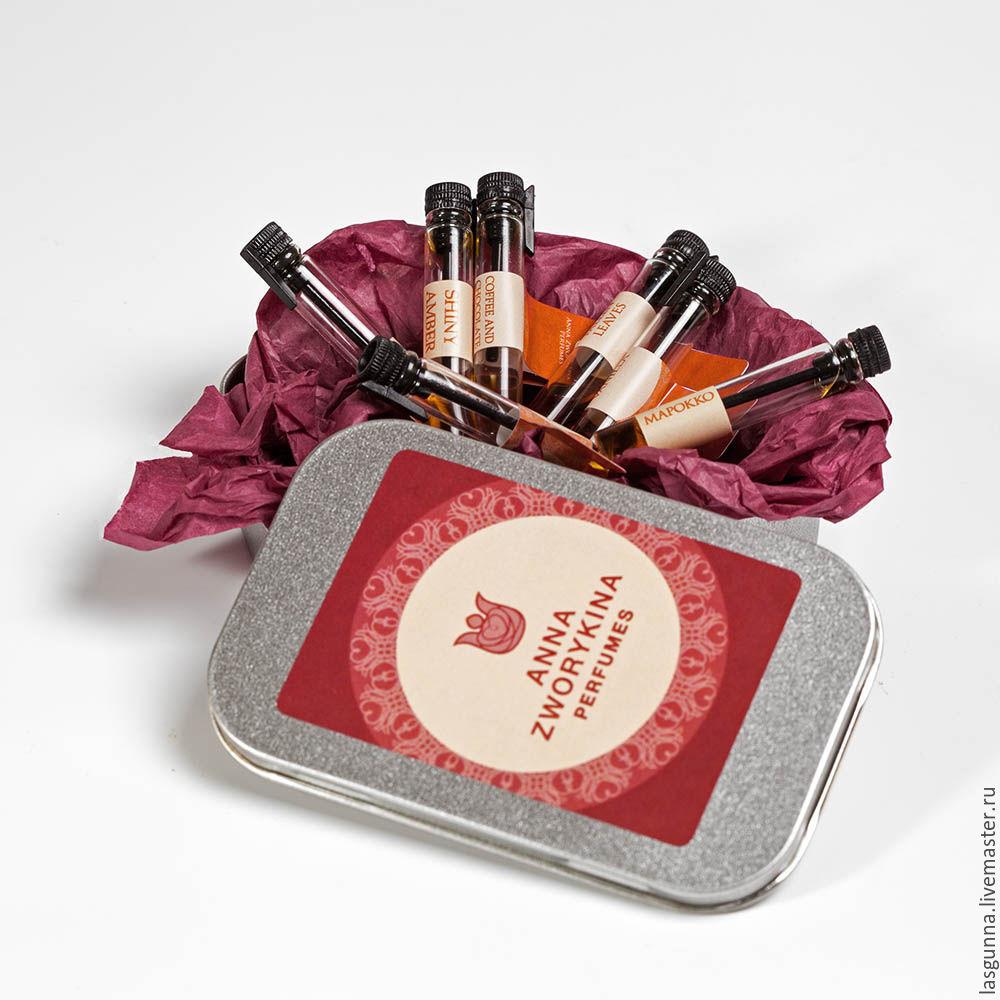 набор пробников ароматы