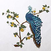 Материалы для творчества handmade. Livemaster - original item Big beautiful embroidery, appliqués, Zharptitsa. Handmade.