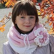 Аксессуары handmade. Livemaster - original item Snood, scarf, cowl