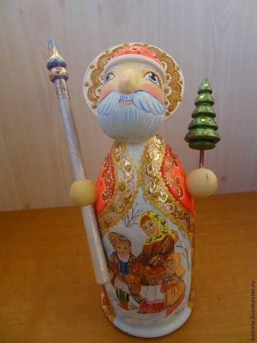 """Новый год 2017 ручной работы. Ярмарка Мастеров - ручная работа. Купить """" Дед Мороз"""" футляр для подарка. Handmade. для праздника"""
