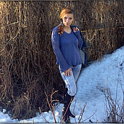 """Одежда ручной работы. Ярмарка Мастеров - ручная работа Туника """"Весна"""". Handmade."""