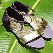 Обувь ручной работы handmade. Livemaster - original item Sandals made of genuine leather Anne. Handmade.