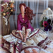 Куклы и игрушки ручной работы. Ярмарка Мастеров - ручная работа Кукла в стиле Тильда.Бохо-дива Фиона. Handmade.