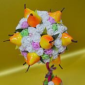 Подарки к праздникам ручной работы. Ярмарка Мастеров - ручная работа топиарий грушевый сад. Handmade.