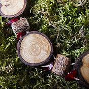 """Украшения ручной работы. Ярмарка Мастеров - ручная работа Колье из дерева """"Лесные шорохи"""". Handmade."""