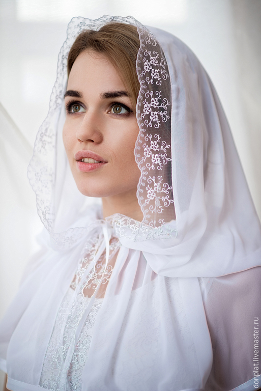 Венчальные платки своими руками