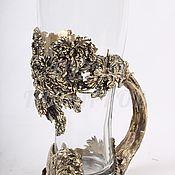 Сувениры и подарки handmade. Livemaster - original item Beer glass