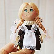 Куклы и игрушки ручной работы. Ярмарка Мастеров - ручная работа Школьный талисман. Текстильная кукла.. Handmade.