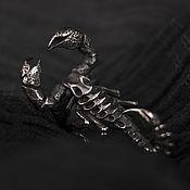 """Украшения ручной работы. Ярмарка Мастеров - ручная работа Кольцо """"Скорпион"""". Handmade."""