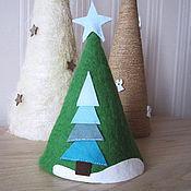 Подарки к праздникам ручной работы. Ярмарка Мастеров - ручная работа Рождественская ёлка из 100% шерсти. Handmade.