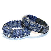 Украшения handmade. Livemaster - original item Bracelet natural sodalite