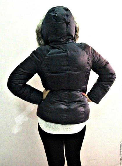 Одежда. Винтажная куртка пуховик фирменная. СКАЗКА ИЗ ЗАБРОШЕННОГО ДОМА. Интернет-магазин Ярмарка Мастеров. Куртка, зимняя куртка