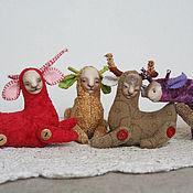 Куклы и игрушки ручной работы. Ярмарка Мастеров - ручная работа Авторская игрушка, Котолень мини.. Handmade.
