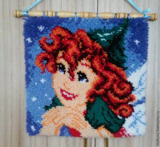 """Текстиль, ковры ручной работы. Ярмарка Мастеров - ручная работа. Купить коврик """"Фея Прилла"""". Handmade. Комбинированный, ковроткачество"""