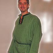 Русский стиль ручной работы. Ярмарка Мастеров - ручная работа Рубаха мужская в славянском стиле. Handmade.