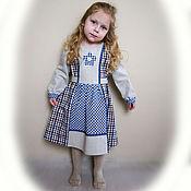 Работы для детей, ручной работы. Ярмарка Мастеров - ручная работа Платье для девочки в стиле бохо. Handmade.