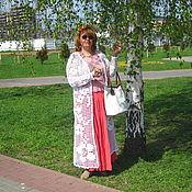 Одежда ручной работы. Ярмарка Мастеров - ручная работа Вязаный кардиган в стиле БОХО.. Handmade.