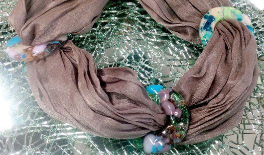 Комплекты украшений ручной работы. Ярмарка Мастеров - ручная работа. Купить Зажимы для платка. Как хочу - так и ношу)). Handmade.