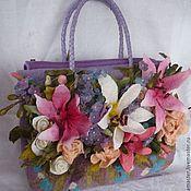 Сумки и аксессуары handmade. Livemaster - original item Bag. Bag felted. Art bag