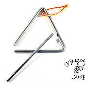 Инструменты ручной работы. Ярмарка Мастеров - ручная работа 20 см Музыкальный треугольник. Handmade.