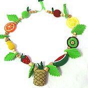 Слингобусы ручной работы. Ярмарка Мастеров - ручная работа Слингобусы  можжевеловые фруктовые. Handmade.