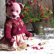 Stuffed Toys handmade. Livemaster - original item Grandma`s jam. Cranberries. Handmade.